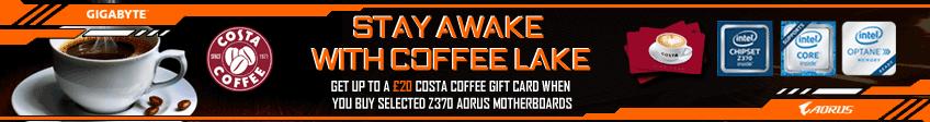 Gigabyte Coffeelake Costa Promotion
