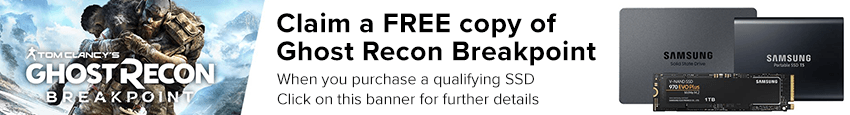 Free Ghost Recon Breakpoint with qualifying SSD