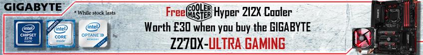 Gigabyte Coolermaster Promotion