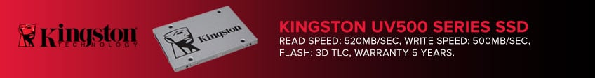 Kingston UV500 Series SSDs