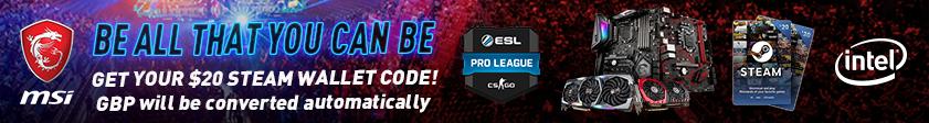 MSI ESL Steam Promotion