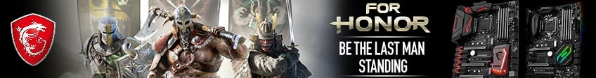 MSI For Honor Game Promo