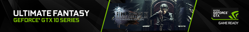 NVIDIA Final Fantasy Game Ready Campaign