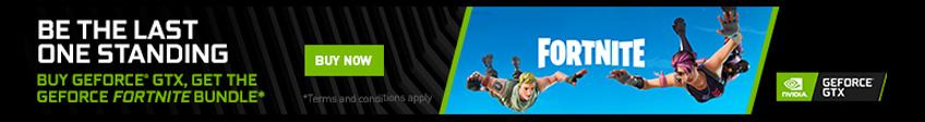 NVIDIA Fortnite Promotion