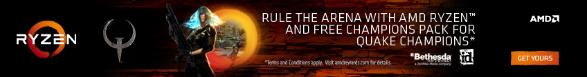 AMD Ryzen Quake Champions Promotion
