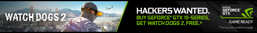 NVIDIA Watchdogs 2 Promotion
