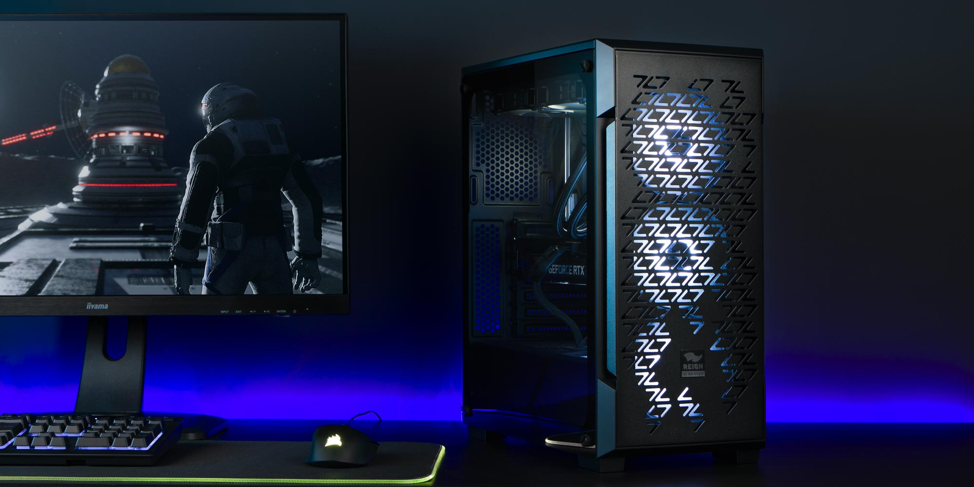 Reign Sentry gaming PCs by Novatech