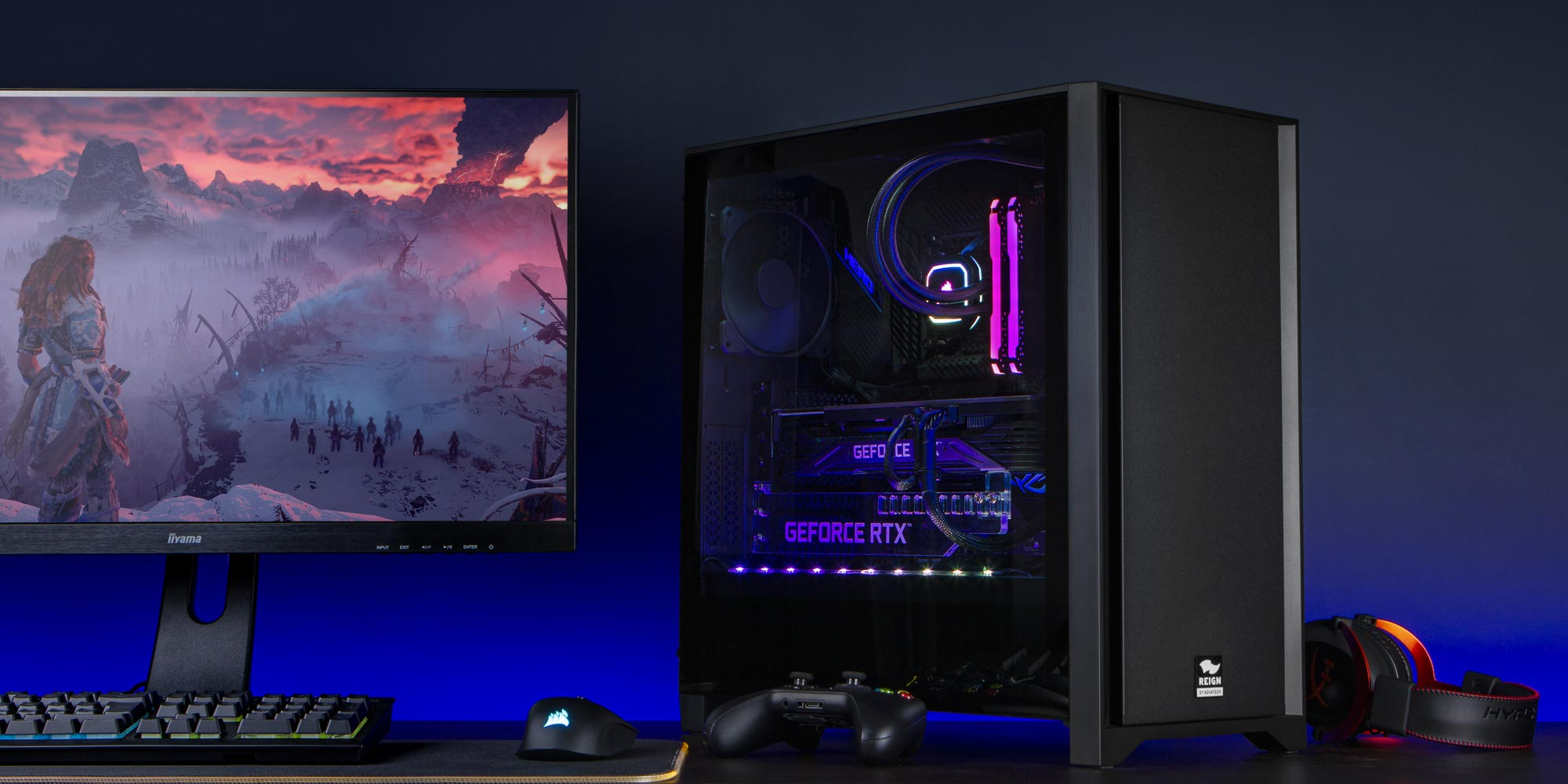 Novatech Reign gaming PCs by game