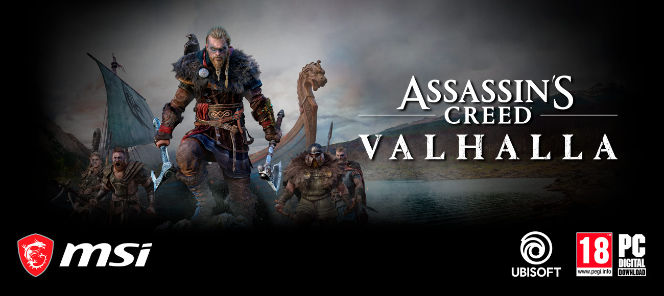 Get Assasins creed Valhalla free with this PC