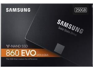 *B-stock item 90days warranty* Samsung 860 Evo 250GB Solid State Drive 2.5inch - Retail