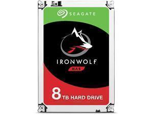 *B-stock item-90 days warranty*Seagate IronWolf 8TB NAS Hard Drive 3.5inch SATA III 6GBs 7200RPM 256MB Cache