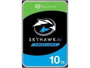 Seagate Skyhawk AI 10TB 3.5And#34; Surveillance Hard Drive HDD