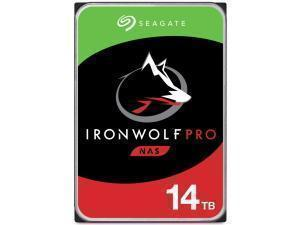 Seagate Ironwolf Pro 14TB 3.5And#34; NAS Hard Drive HDD