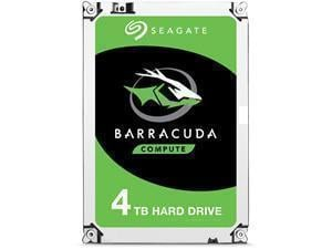 Seagate BarraCuda 4TB Desktop Hard Drive 3.5inch SATA III 6GBs 5400RPM 256MB Cache
