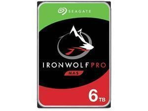 Seagate Ironwolf Pro 6TB 3.5And#34; NAS Hard Drive HDD