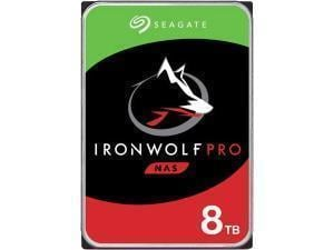 Seagate Ironwolf Pro 8TB 3.5And#34; NAS Hard Drive HDD