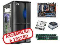 Barebones Bundle Intel Core 2 Quad Q6600 2048MB 800Mhz DDR2 Heatsink