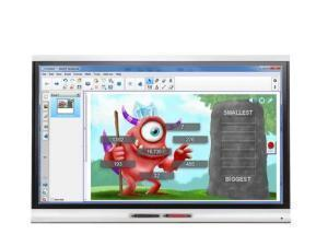 SMART Board SPNL-6065-V2 65And#34; LED LCD Touchscreen Monitor