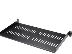StarTech.com 1U Vented Server Rack Mount Shelf - 10in Deep Steel Universal Cantilever Tray for 19And#34; AV Andamp; Network Equipment Rack - 44lbs CABSHELFV1U - Add a sturdy 1