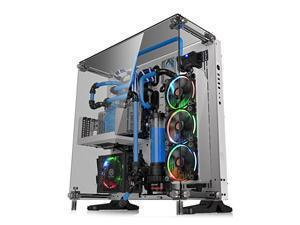 Thermaltake Core P5 Snow Mid Tower ATX Case With Tempered Glass Sides and Front