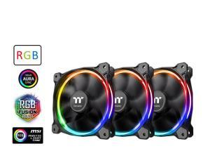 Thermaltake Riing 12 LED RGB Radiator Fan Sync Edition 3-Fan Pack