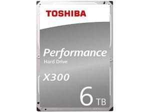 Toshiba X300 6TB 3.5And#34; Hard Drive HDD