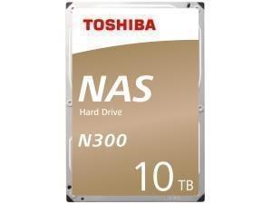 Toshiba N300 10TB 3.5And#34; NAS Hard Drive HDD
