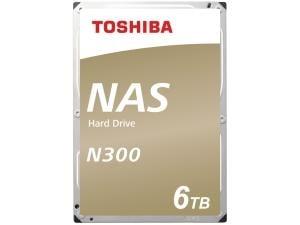 Toshiba N300 6TB 3.5And#34; NAS Hard Drive HDD