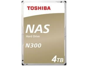 Toshiba N300 4TB 3.5And#34; NAS Hard Drive HDD