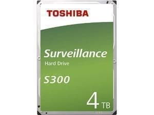 Toshiba S300 4TB 3.5And#34; Surveillance Hard Drive HDD