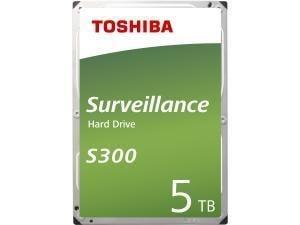 Toshiba S300 5TB 3.5And#34; Surveillance Hard Drive HDD