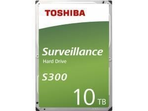 Toshiba S300 10TB 3.5And#34; Surveillance Hard Drive HDD