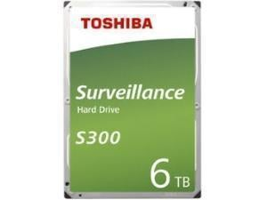 Toshiba S300 6TB 3.5And#34; Surveillance Hard Drive HDD