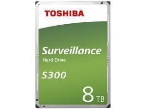 Toshiba S300 8TB 3.5And#34; Surveillance Hard Drive HDD
