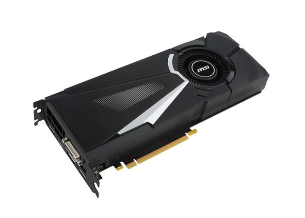MSI GeForce GTX 1070 AERO OC 8GB GDDR5 Graphics Card next gen technologies