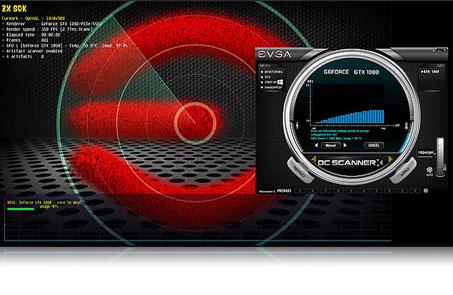 EVGA GeForce GTX 1060 SC GAMING 6GB GDDR5 Graphics Card evga precision x