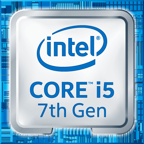 intel 7th gen i5 logo