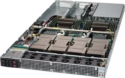 Supermicro 4-way NVIDIA TESLA P100 NVLink Deep Learning Server image
