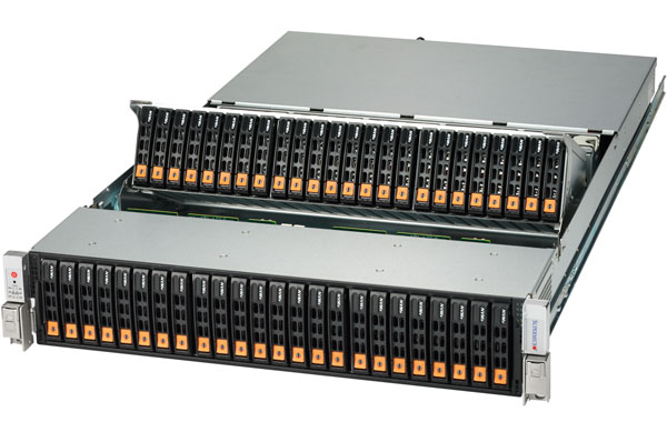 SuperMicro Xeon E5 48NVMe SuperStorage Server image
