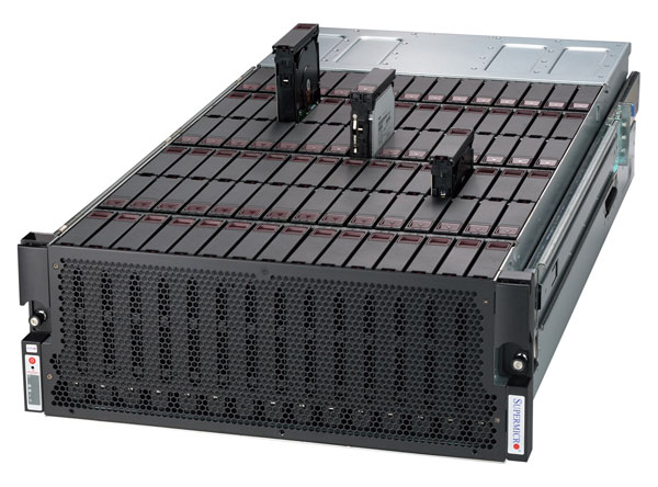 SuperMicro Xeon E5 60x SATA/SAS SuperStorage Server image