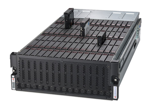 SuperMicro Xeon E5 90x SATA/SAS SuperStorage Server image