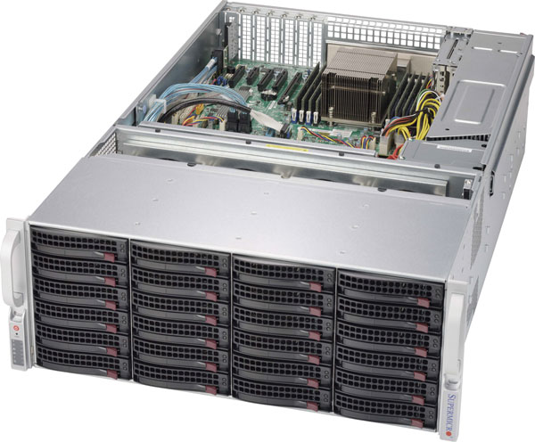SuperMicro Xeon E5 6GB/s Storage Server image