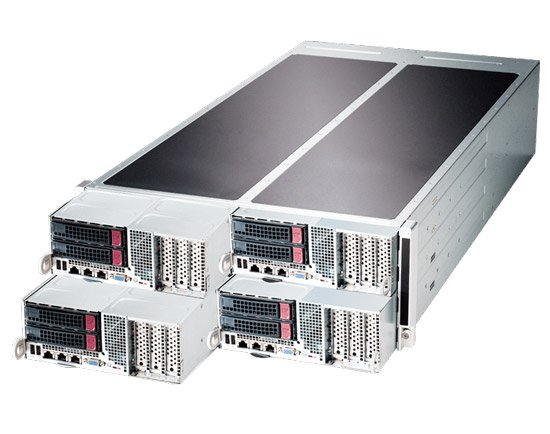 SuperMicro Dual Xeon Quad Node Server image