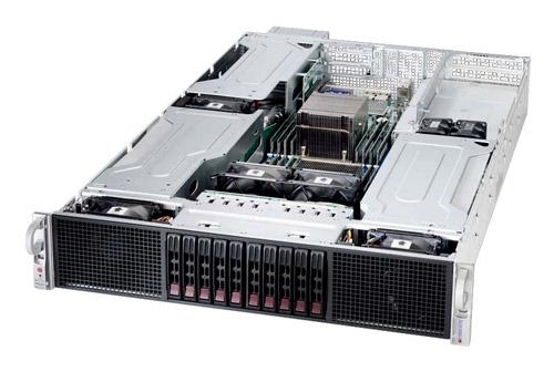 SuperMicro Dual Xeon High Density GPU optimised Server image