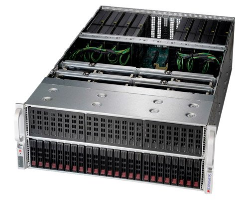 SuperMicro Dual Xeon 10-GPU with Single Root Complex Server image