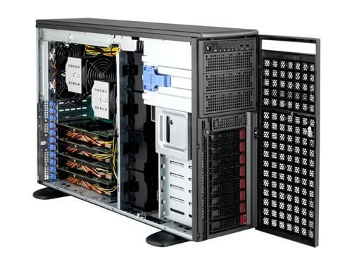 SuperMicro Dual Xeon Rack/Tower GPU optimised Server image
