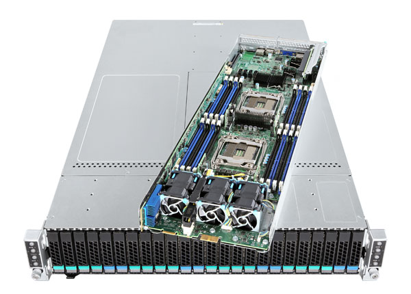 Intel® 2 Single Node VMWARE vSAN Ready Server System -  up to 40VMs image
