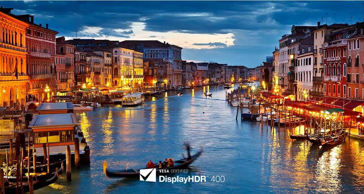 """27UL850 27"""" UHD 4K Monitor Clearer and Brighter HDR"""