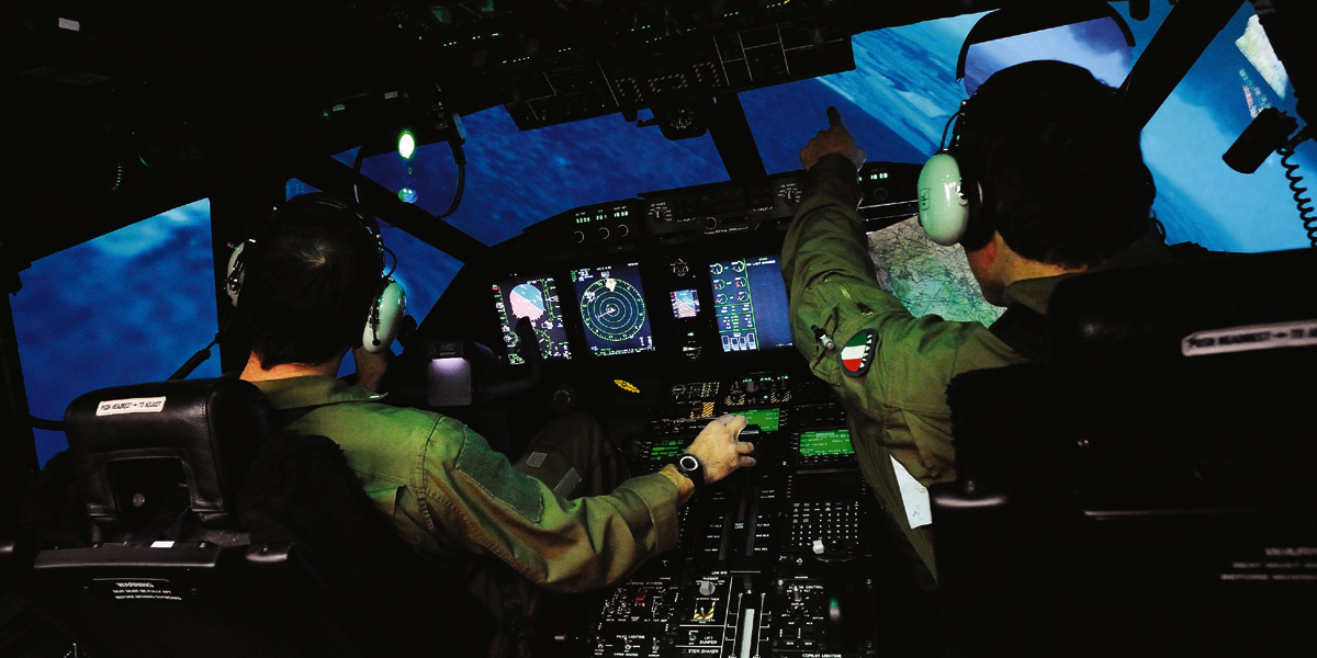 Defence, Training and Simulation solutions
