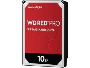 WD Red Pro 10TB 3.5And#34; NAS Hard Drive HDD